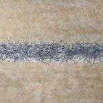Más allá del horizonte, Acrílico sobre tela, 110x190 cm, 2018.