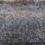 Punto de quiebre, Acrílico sobre tela, 60x219 cm, 2017