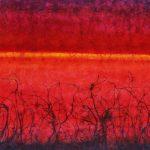 Horizonte 8, Acrílico sobre tela, 126x219 cm, 2017