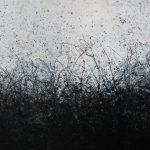 Más allá del horizonte 4, Acrílico sobre tela, 92x189 cm, 2019.