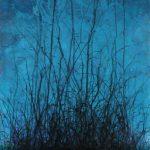 Mas allá de la luz 4, Acrílico sobre tela, 170x80 cm, 2017